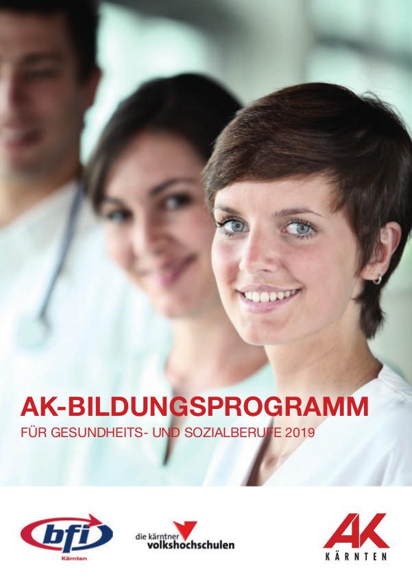 AK-Fortbildungsprogramm für Gesundheits- und Sozialberufe